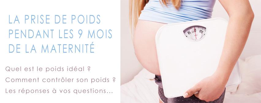 poids idéal grossesse