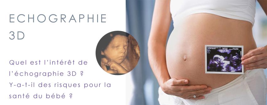 échographie en 3D grossesse