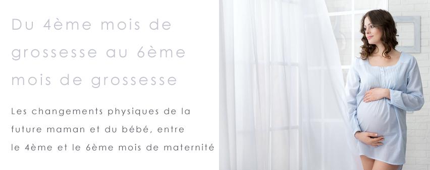 4ème au 6ème mois de grossesse
