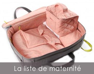 liste départ maternité