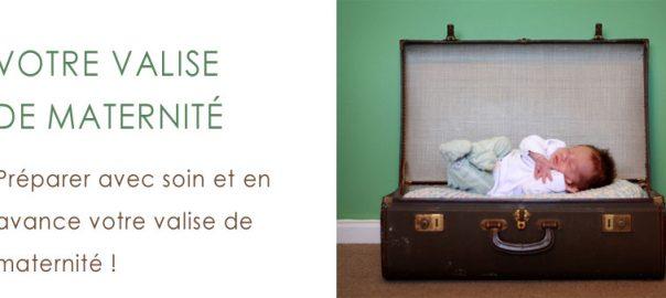liste affaires valise maternité accouchement