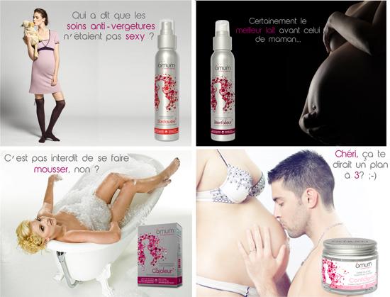 produits de soin femmes enceintes
